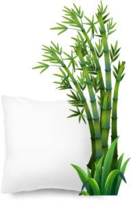 oreiller bambou